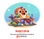 Day 1401. Socktopus