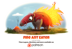 Day 1405. Fire Ant Eater