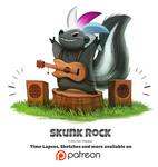 Day 1406. Skunk Rock