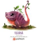 Day 1410. Figuana