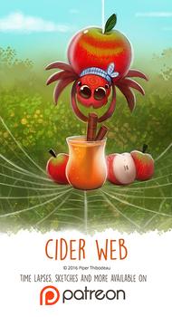 Day 1412. Cider Web