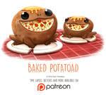 Day 1420. Baked Potatoad