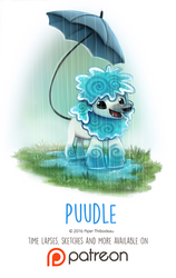Day 1422. Puudle