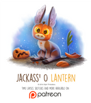 Day 1424. Jackass O' Lantern