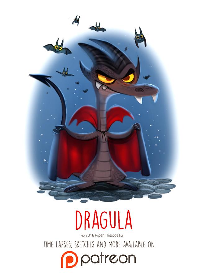 Day 1426. Dragula