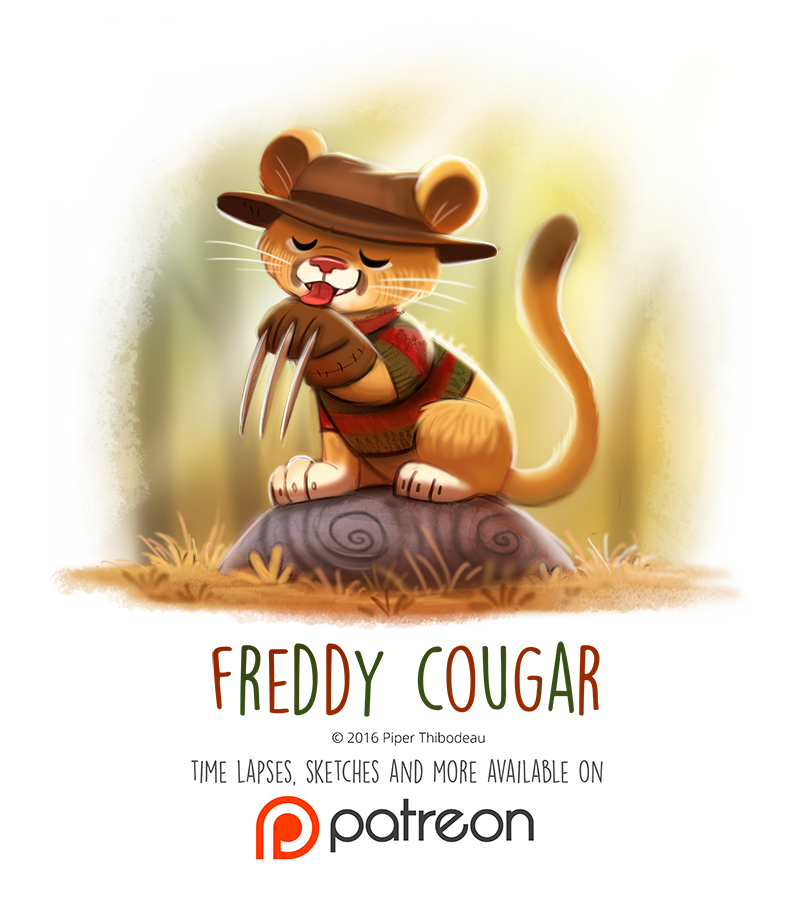 Day 1429 freddy cougar by cryptid creations on deviantart - Pictures of freddy cougar ...
