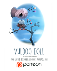Day 1436. Vuldoo Doll by Cryptid-Creations