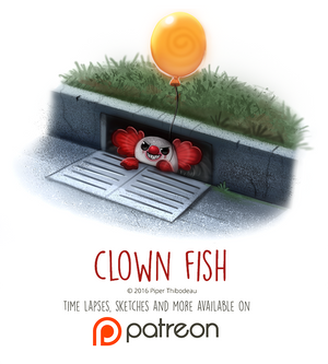 Day 1440. Clown Fish