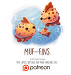 Daily Paint 1451. Muf-fins