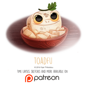 Daily Paint 1453. Toadfu