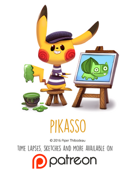 Daily Paint 1454. Pikasso