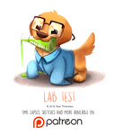 Daily Paint 1460. Lab Test