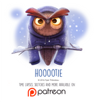 Daily Paint 1463. Hoootie