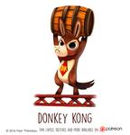 Daily Paint 1468. Donkey Kong
