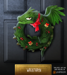 Daily Paint 1477. Wreathryn