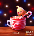 Daily Paint 1484. Cocoatiel