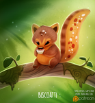 Daily Paint 1501. Biscoatti