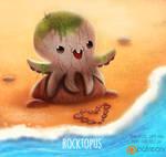 Daily Paint 1503. Rocktopus
