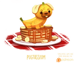 Daily Paint 1504. Pugtassium
