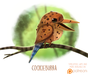 Daily Paint 1506. Cookieburra