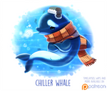 Daily Paint 1507. Chiller Whale