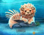 Daily Paint 1515. Lionfish