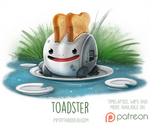 Daily Paint 1524. Toadster