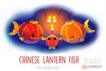 Daily Paint 1530. Chinese Lantern Fish