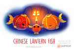 Daily Paint 1530. Chinese Lantern Fish