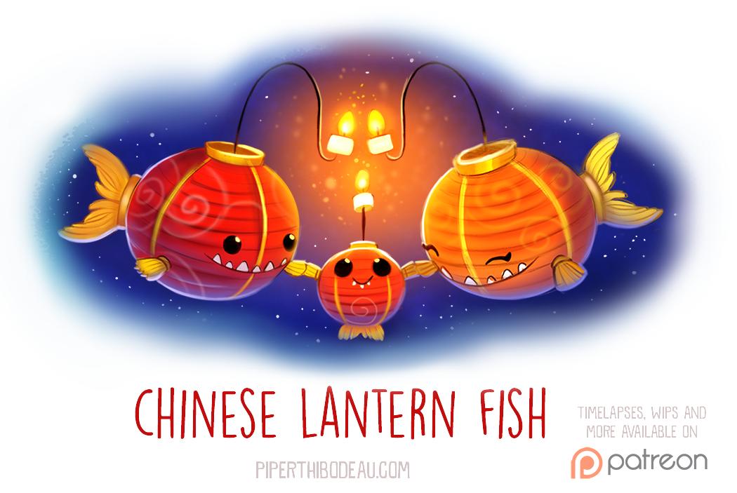 how to make chinese fish lantern