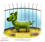 Daily Paint 1532. Zoochini