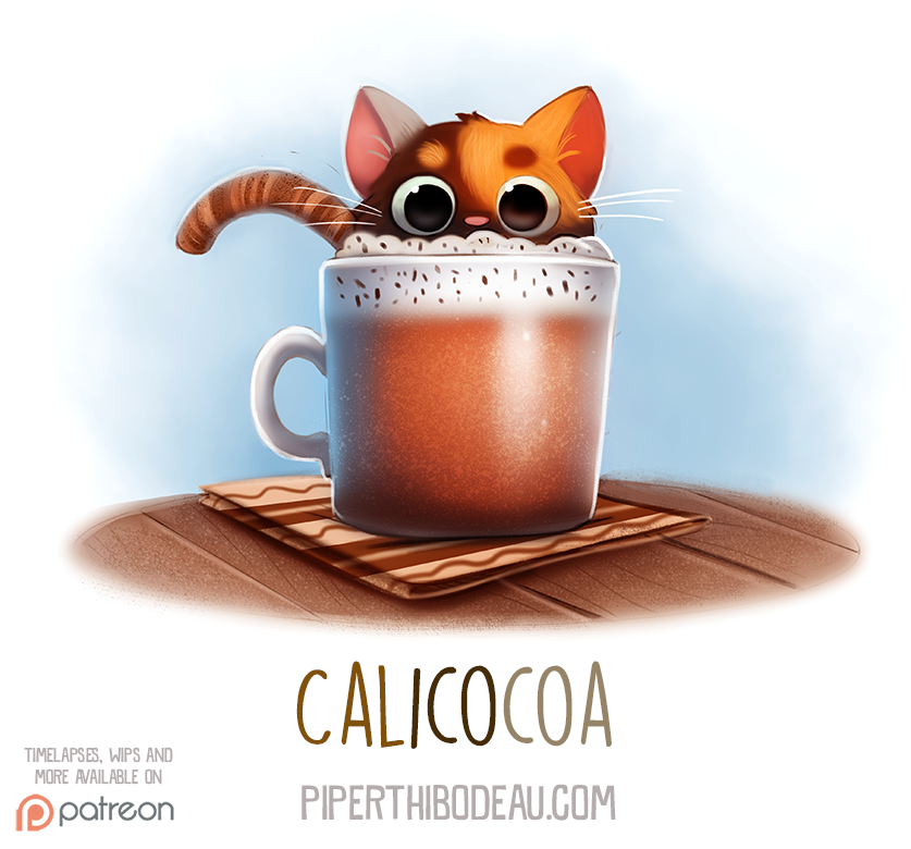 Daily Paint 1534. Calicocoa