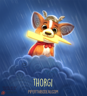 Daily Paint 1536. Thorgi