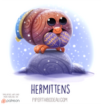Daily Paint 1537. Hermittens