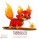 Daily Paint 1539. Tabbyasco