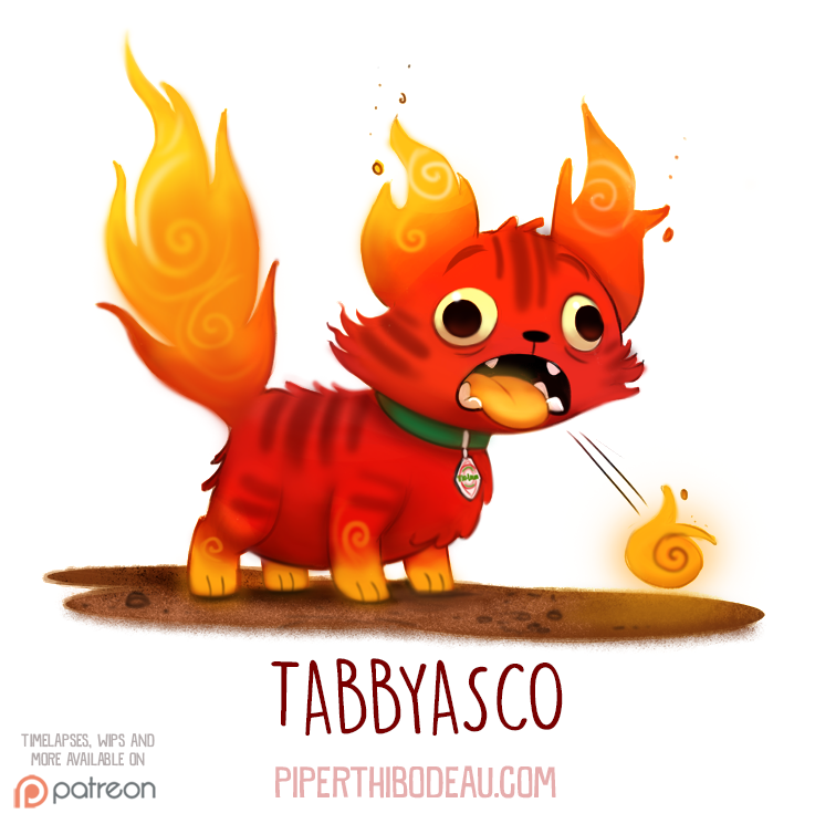 Daily Paint 1539. Tabbyasco