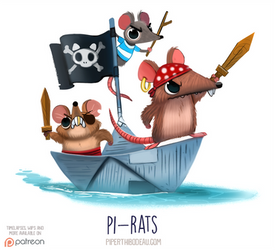 Daily Paint 1542. Pi-rats