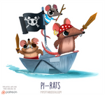 Daily Paint 1542. Pi-rats