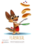 Daily Paint 1544. Flapjackal