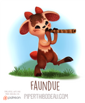 Daily Paint 1551. Faundue