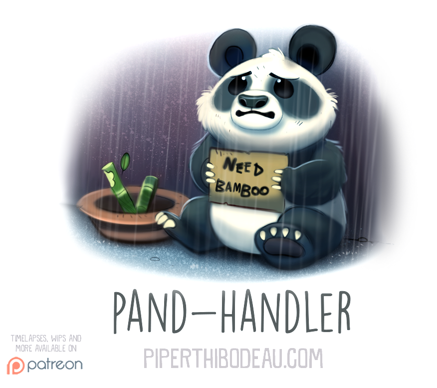 Daily Paint 1553. Pand-Handler