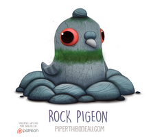 Daily Paint 1554. Rock Pigeon