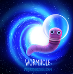 Daily Paint 1556. Wormhole