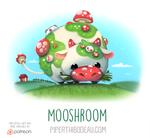 Daily Paint 1557. Mooshroom