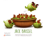 Daily Paint 1561. Jack Brussel