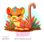 Daily Paint 1562. Sugrrrrr
