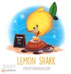 Daily Paint 1564. Lemon Shark