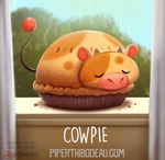 Daily Paint 1575. Cowpie