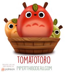 Daily Paint 1583. Tomatotoro