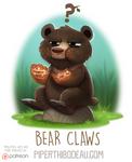 Daily Paint 1588. Bear Claws